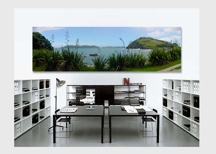 Matauri-Bay-panorama-on-canvas-in-office