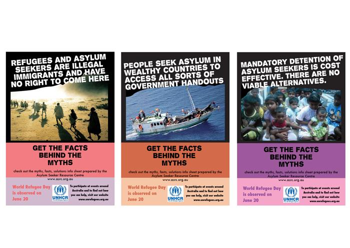 Campaign-UNHCR-posters