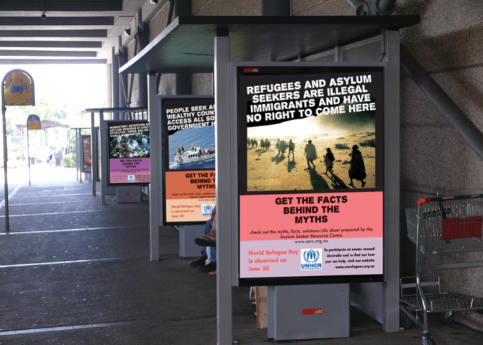 Campaign-posters-bus-shelter