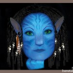 Photo manipulation of a face into an Avatar
