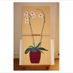Orchids painting duo canvas