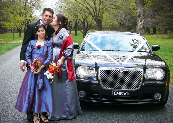 Three-with-limo