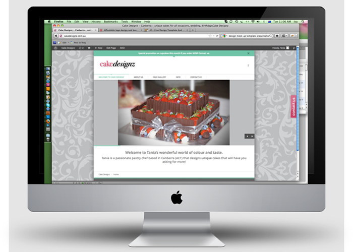 Cakedesignz-website