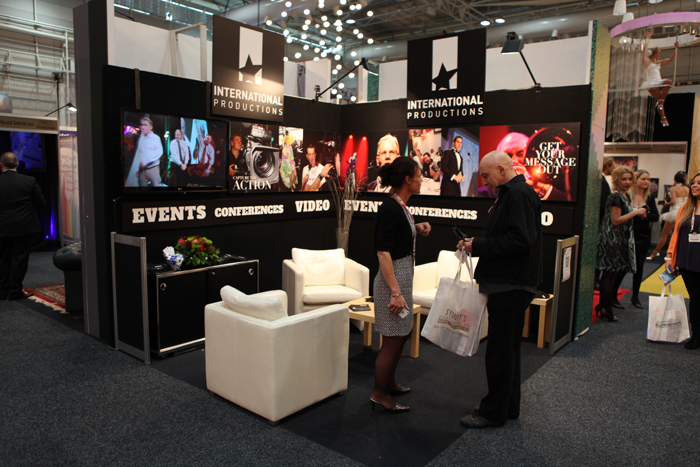 Exhibition Booth Layout : Exhibition booth layout design for international productions at